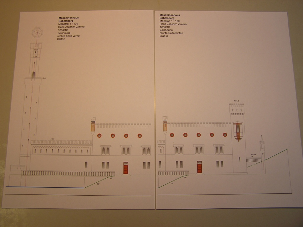 Maschinenhaus Babelsberg / 1:130 / Hans-Joachim Zimmer 720