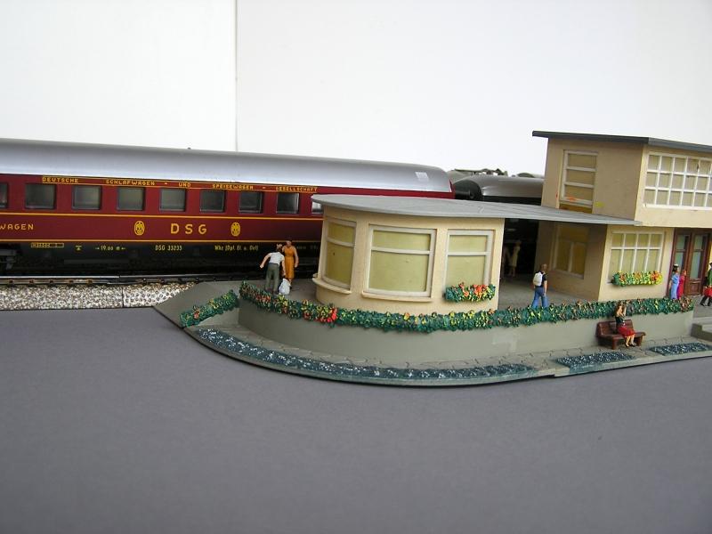 Bahnhof 0/51/7, Kibri, 1/87 722