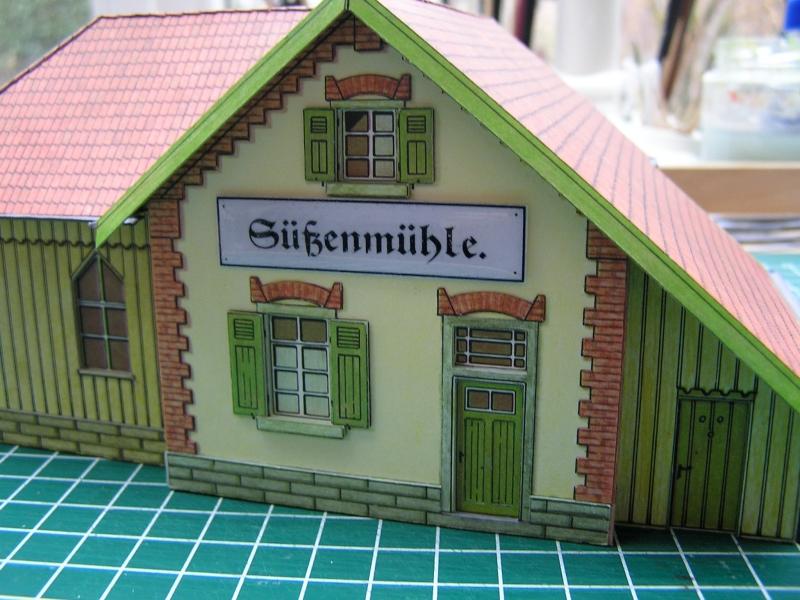 Bedarfshaltestelle Süßenmühle von Schreiber-Bogen in H0 - leicht aufgepeppt - Seite 2 7311