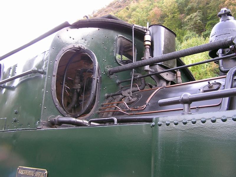 Mit dem Vulkan-Express hoch in die Eifel - die Brohltalbahn  7410