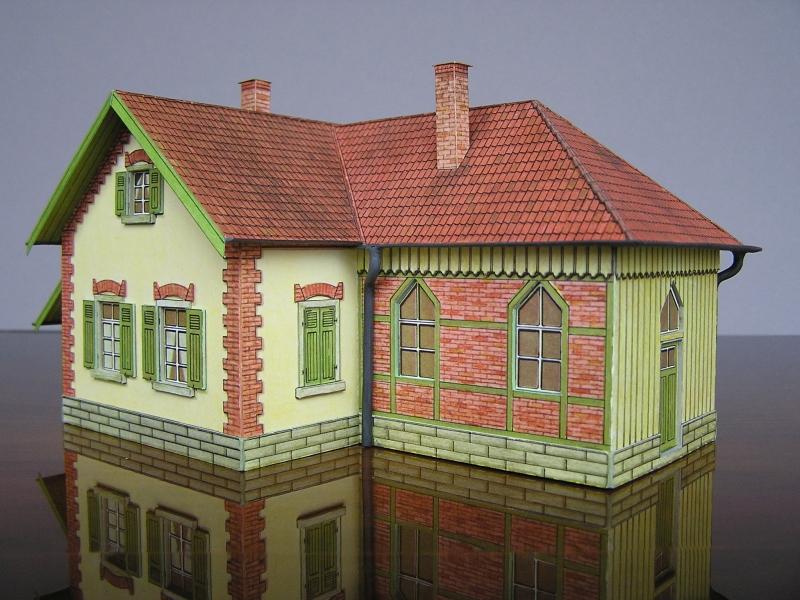 Bedarfshaltestelle Süßenmühle von Schreiber-Bogen in H0 - leicht aufgepeppt - Seite 2 7611