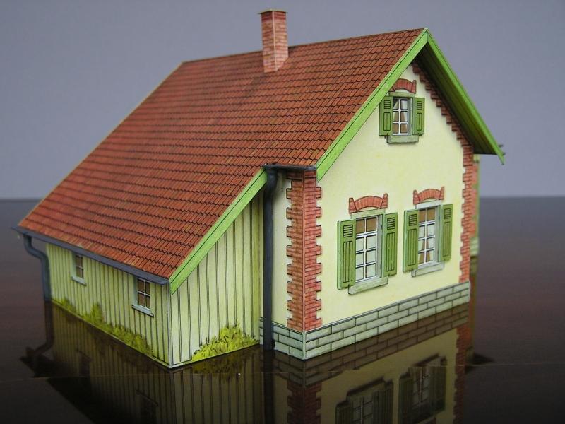 Bedarfshaltestelle Süßenmühle von Schreiber-Bogen in H0 - leicht aufgepeppt - Seite 2 7711