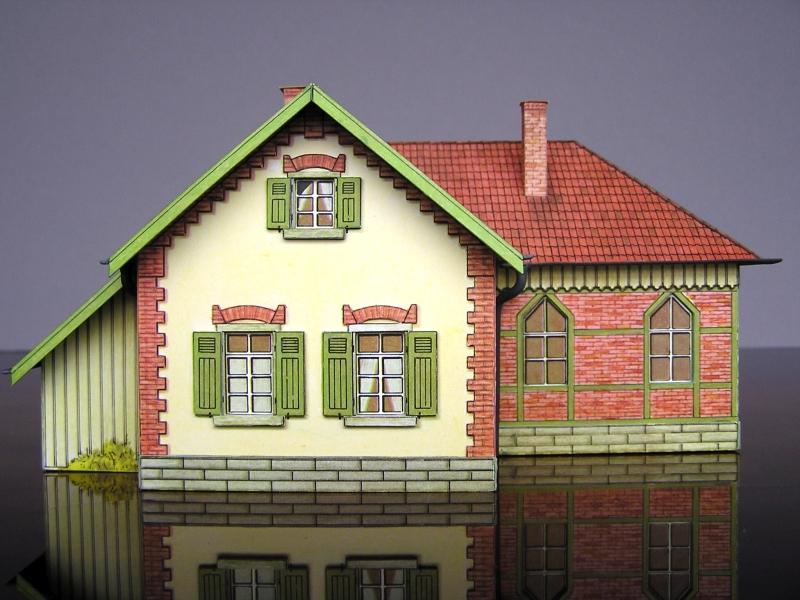 Bedarfshaltestelle Süßenmühle von Schreiber-Bogen in H0 - leicht aufgepeppt - Seite 2 8011