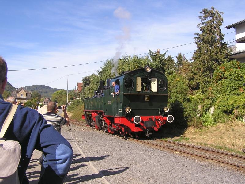 Mit dem Vulkan-Express hoch in die Eifel - die Brohltalbahn  811