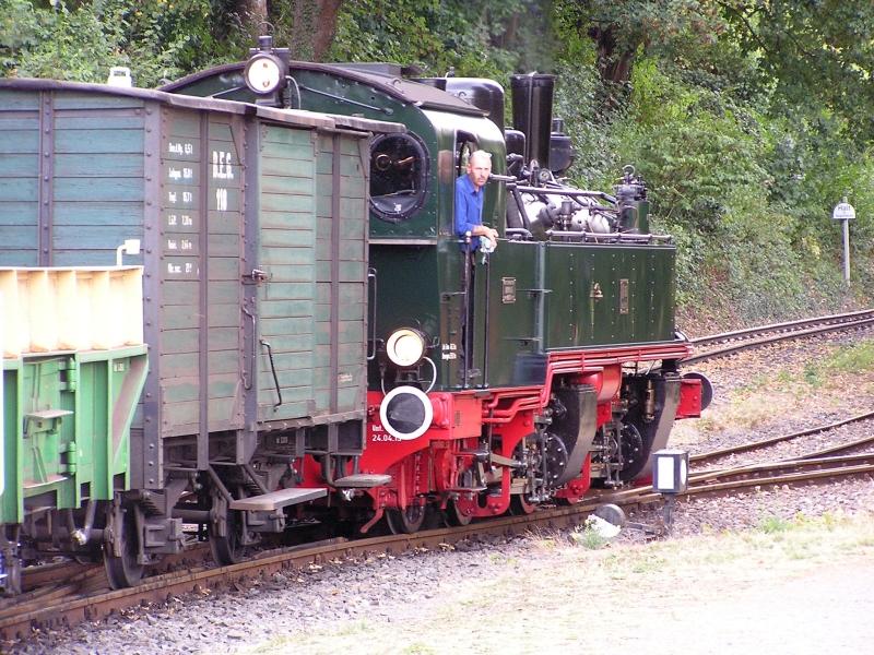 Mit dem Vulkan-Express hoch in die Eifel - die Brohltalbahn  8110