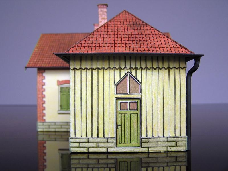 Bedarfshaltestelle Süßenmühle von Schreiber-Bogen in H0 - leicht aufgepeppt - Seite 2 8111