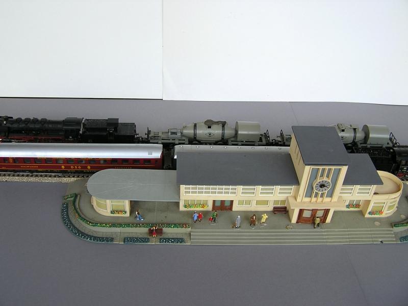 Bahnhof 0/51/7, Kibri, 1/87 821