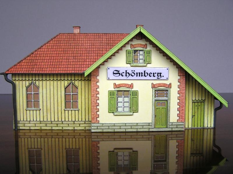 Bedarfshaltestelle Süßenmühle von Schreiber-Bogen in H0 - leicht aufgepeppt - Seite 2 8211