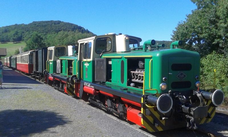 Mit dem Vulkan-Express hoch in die Eifel - die Brohltalbahn  8310