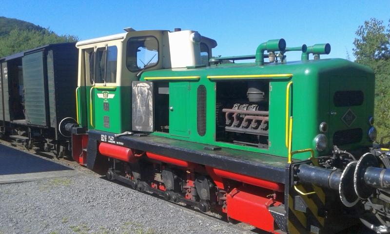 Mit dem Vulkan-Express hoch in die Eifel - die Brohltalbahn  8410