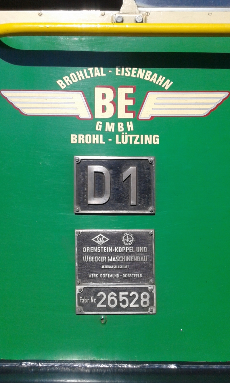 Mit dem Vulkan-Express hoch in die Eifel - die Brohltalbahn  8910