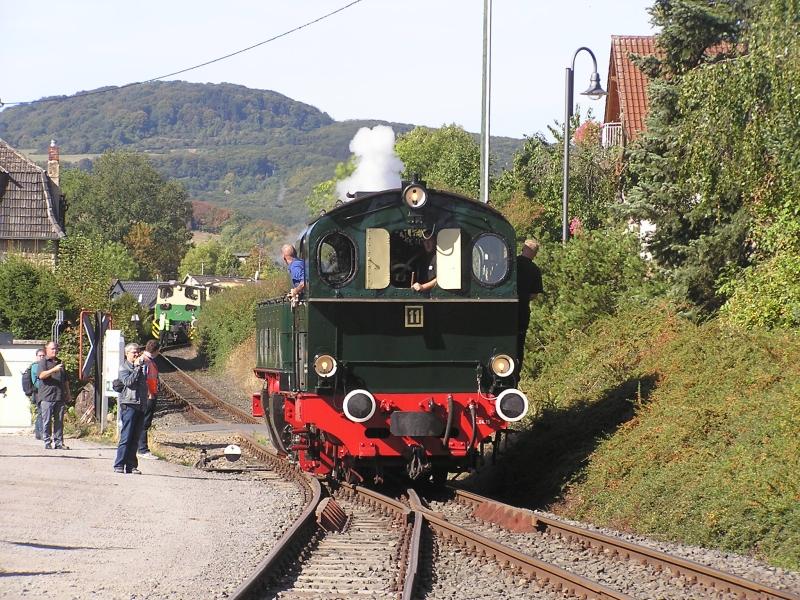 Mit dem Vulkan-Express hoch in die Eifel - die Brohltalbahn  911