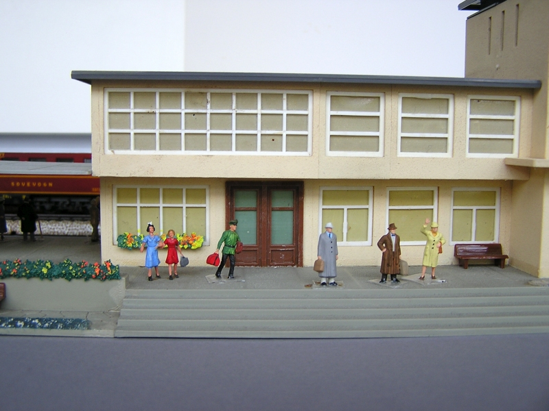 Bahnhof 0/51/7, Kibri, 1/87 921