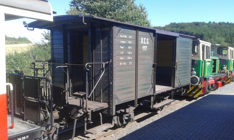 Mit dem Vulkan-Express hoch in die Eifel - die Brohltalbahn  9411