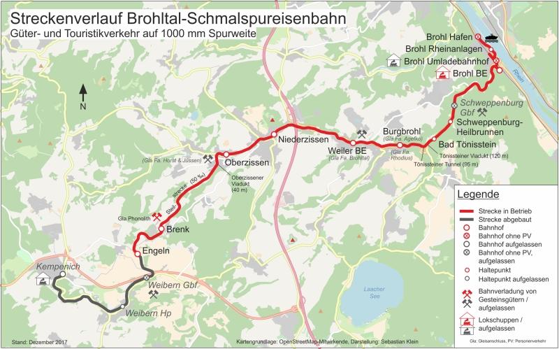 Mit dem Vulkan-Express hoch in die Eifel - die Brohltalbahn  Karte_10