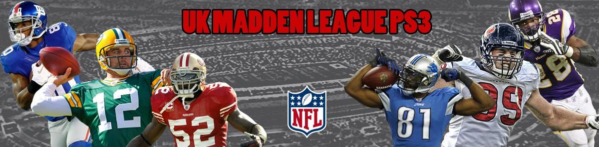 NFLUK Madden PS3 League