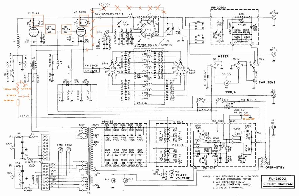 Réparation FL2100Z Fl210010