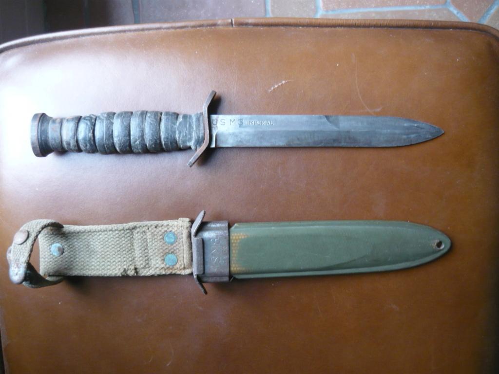 Poignard USM3 avec fourreau M8 1943 00410
