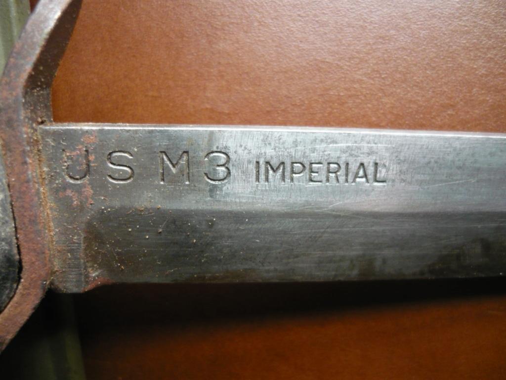Poignard USM3 avec fourreau M8 1943 00510