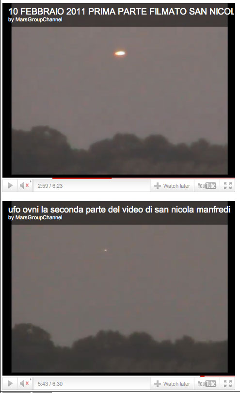 Vidéo : OVNI à San Nicola Manfredi, Italie, le 13/06/2010 Petite10