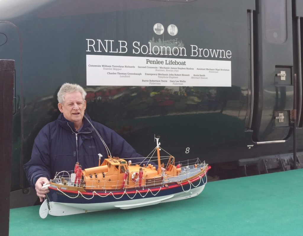 GWR Solomon Browne Engine naming Ceremony Mick10