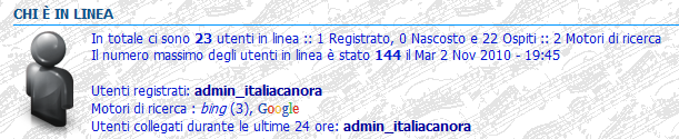 Modifica del numero massimo di utenti in linea Utenti10