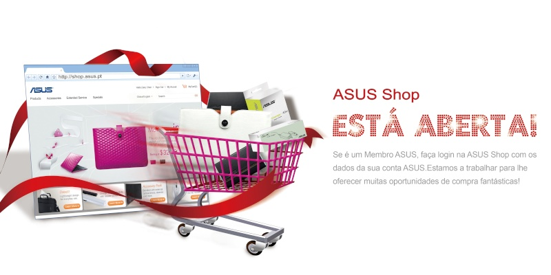 """ASUS Shop"" aberta em Portugal Loja10"
