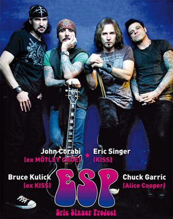 Eric Singer Project Tour Europe. Medium11