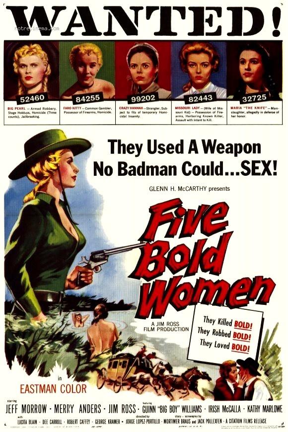 5 pistolets roses- 5 Bold Women - 1960 - J L Portillo Cinq-p10