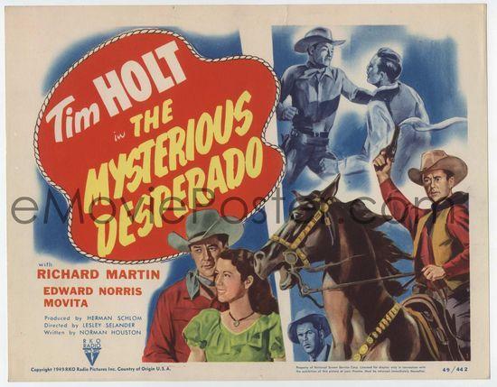 The Mysterious Desperado - 1949 - Lesley Selander Lcmyst10