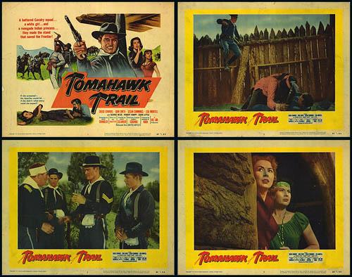 Le sentier de la guerre - Tomahawk Trail - 1957 - Lesley Selander Mpw-3110