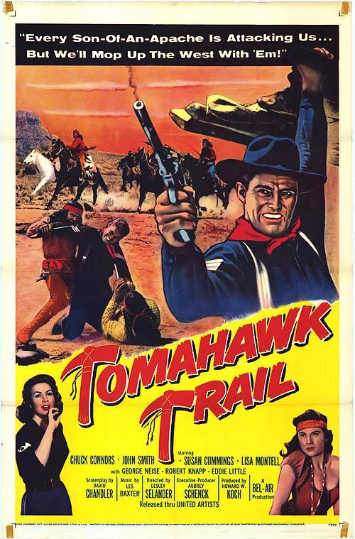 Le sentier de la guerre - Tomahawk Trail - 1957 - Lesley Selander Tomaha10