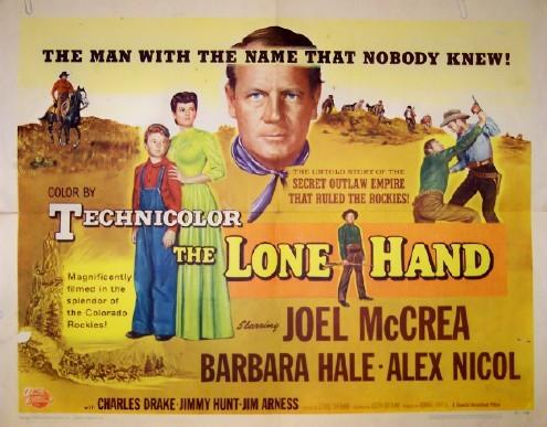 The Lone Hand - 1953- George Sherman Tumblr10