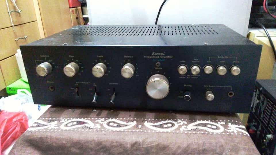 Sansui AU 4900 & Loth X Ion Speaker Sansui10