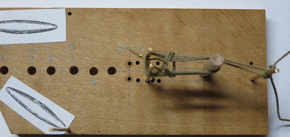 Le gréement de La Belle par JP Abrassart (1/20) 1711