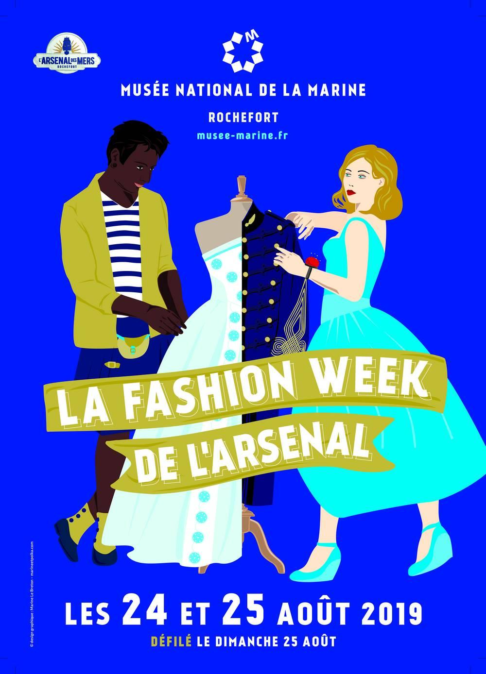 Fashion week de l'Arsenal 2019 Fashio10