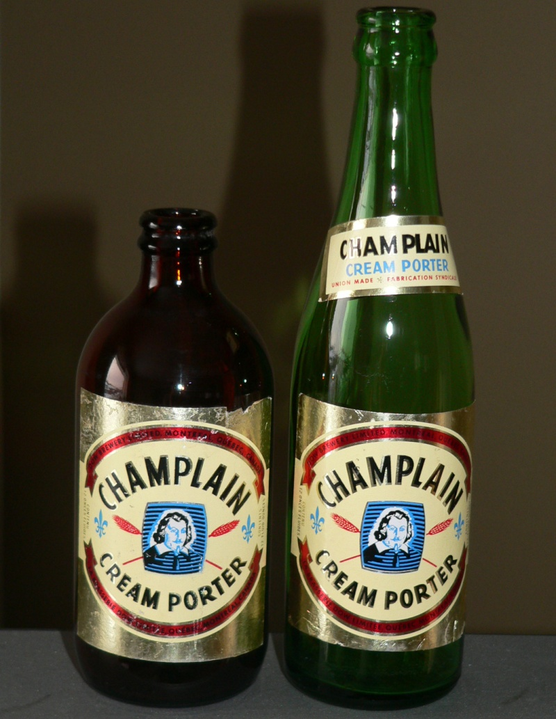 2 bouteilles Champlain - fin 1960 2champ10