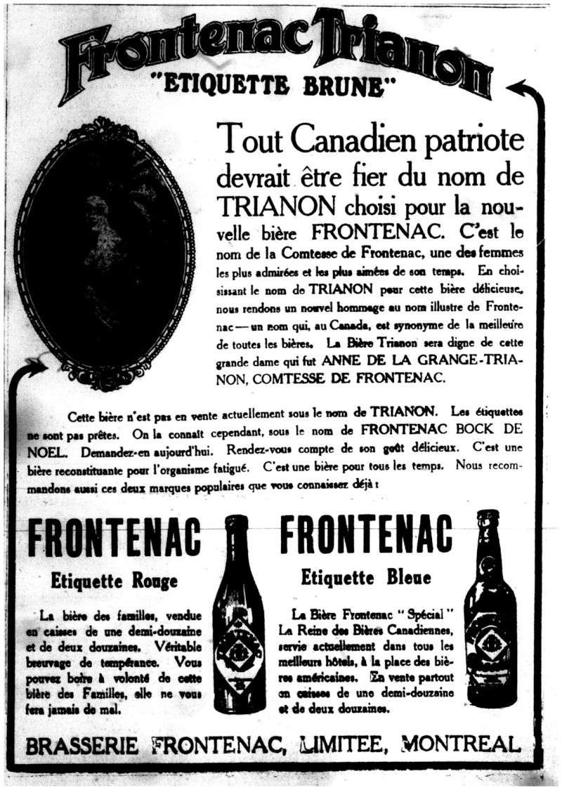1915 - Frontenac Trianon et autres publicités Fronte11