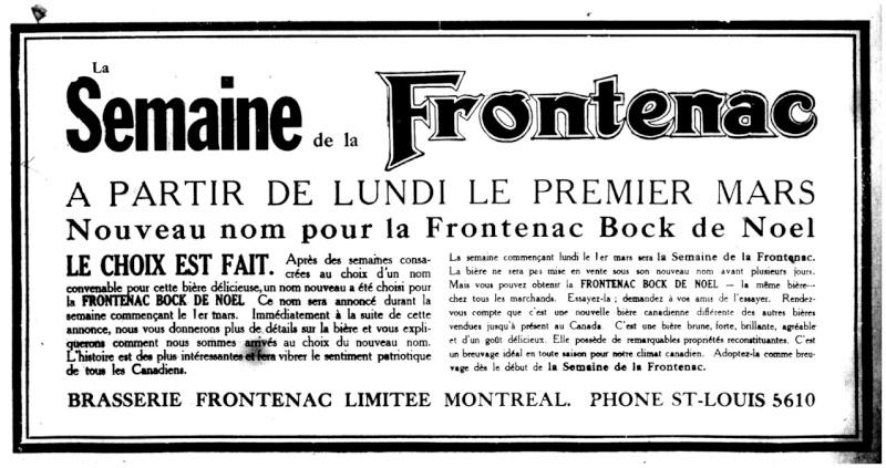 1915 - Frontenac Trianon et autres publicités Fronte12