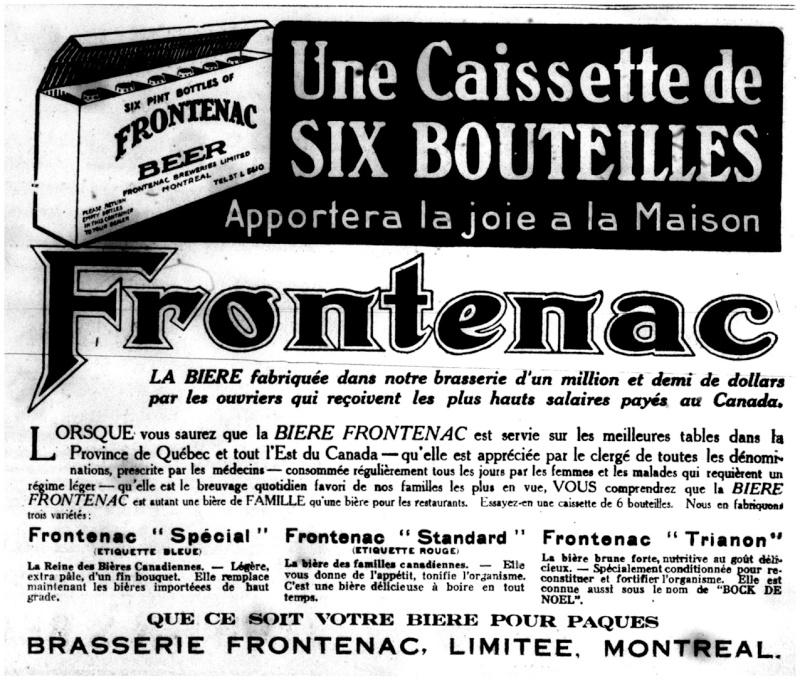 1915 - Frontenac Trianon et autres publicités Fronte13