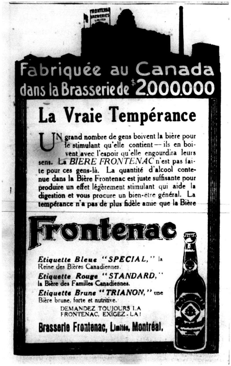 1915 - Frontenac Trianon et autres publicités Fronte14