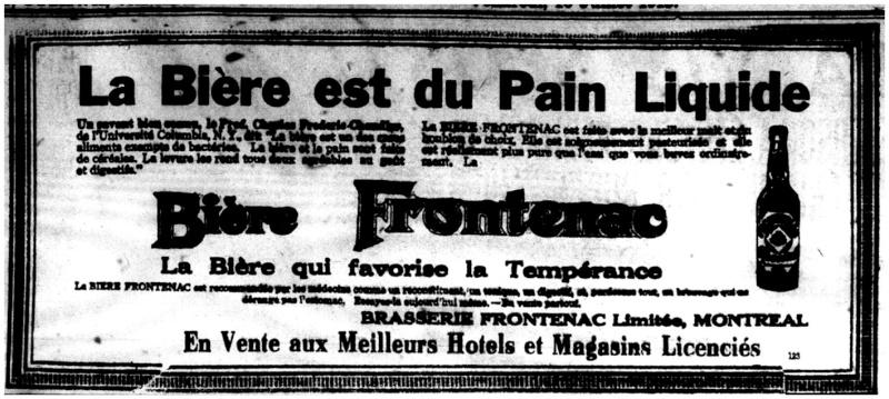 1915 - Frontenac Trianon et autres publicités Fronte16