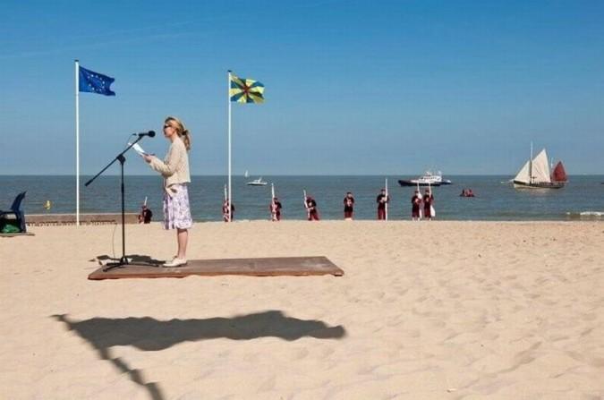 Iluzie optica pe plaja Iluzie10