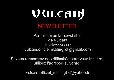 Vulcain publie sa newsletter Pubnew10