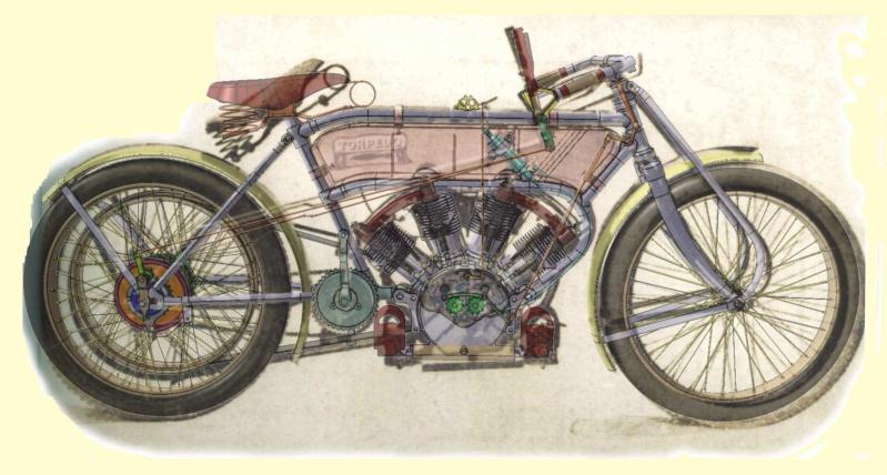 1909 - CZ Racing Torpedo 1640 Plakat10