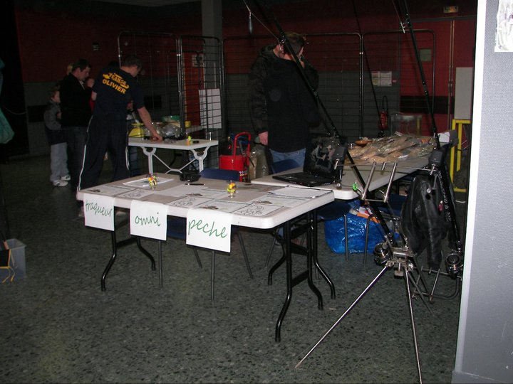 Premier Salon de la Peche pour Trakeur Omni Peche 77 Stand10