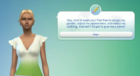 New Look - New CAS Option - Unlocked Items - July Maxis Monthly  910