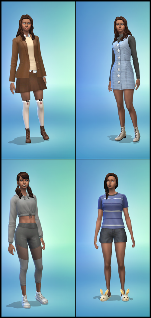 Roll Call - Who are the Sims you are sending to University?  Averee10