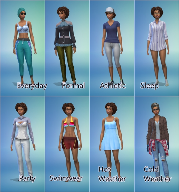 Call the Fashion Police - Sims Wear The Strangest Things [2019] Game_s10