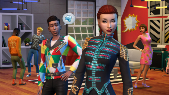 Introducing The Sims 4: Moschino Stuff Pack Your Sims are about to slay.  Ts4-sp10